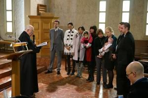 Baptêmes 7-12-2014 Pasteur Gounelle