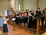 Le chœur d'adultes du conservatoire de Courbevoie
